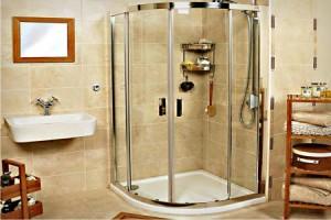 Установка душевой кабины или ванны